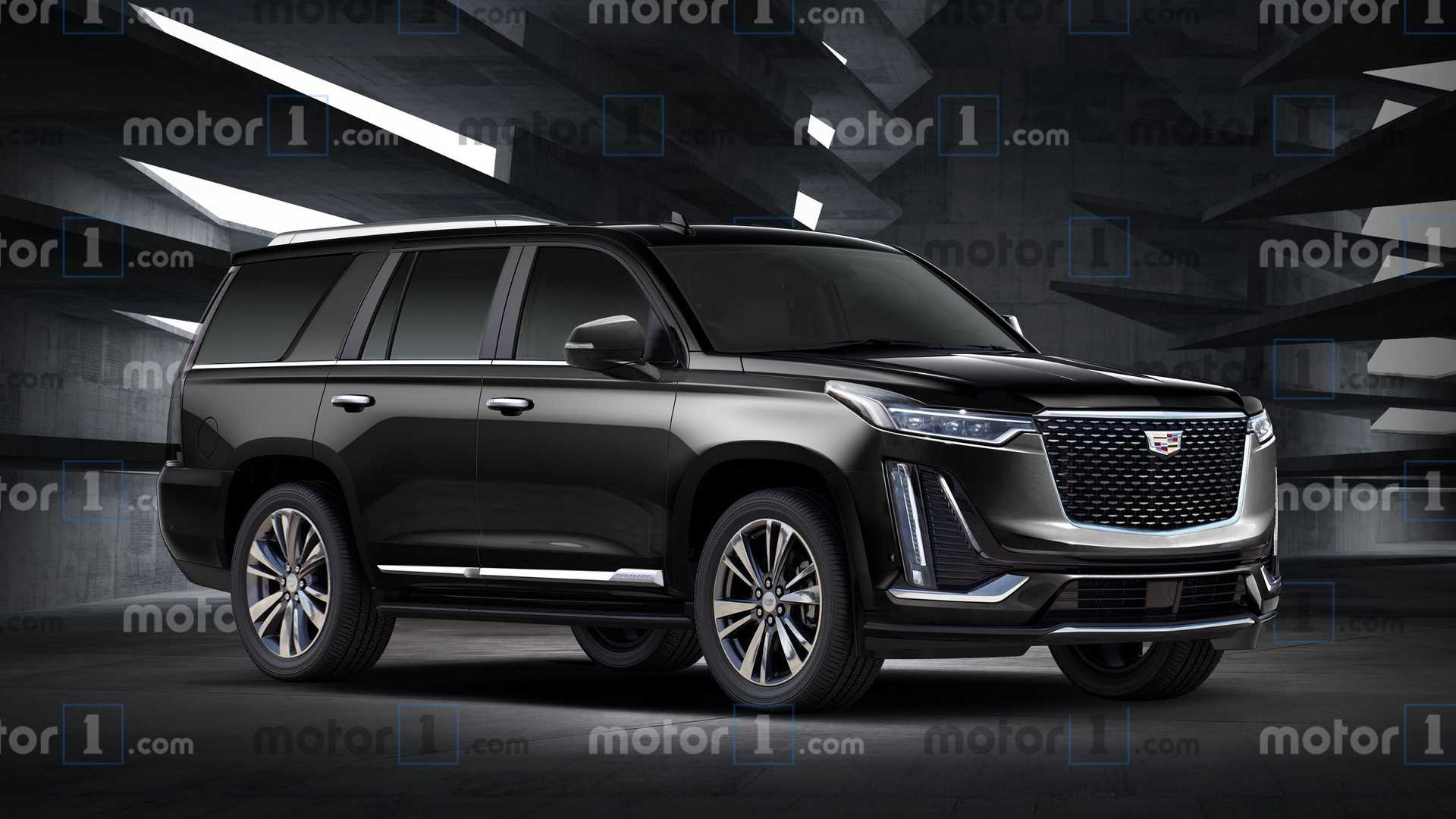 A New Image On The Electric Cadillac Escalade The Next