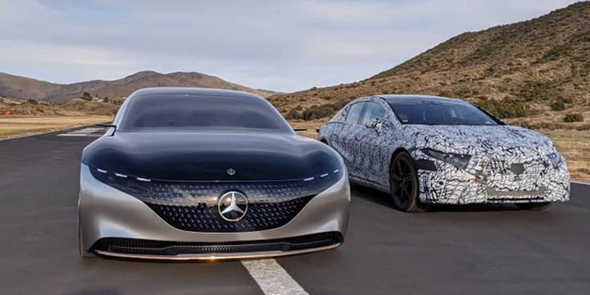 Mercedes-Benz Officially Shows the First Images of the EQS ...