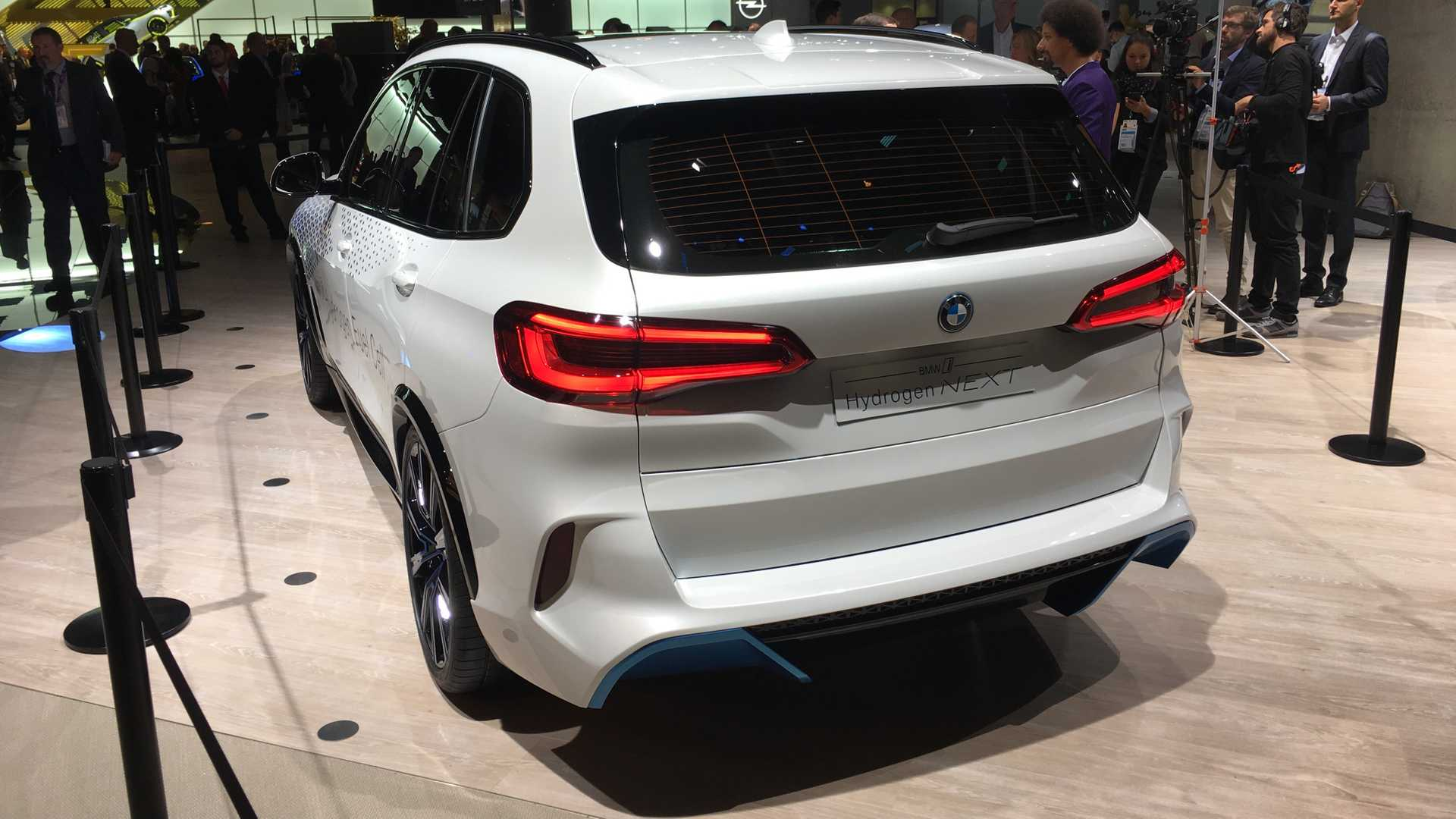 BMW iNext X5 fuel cell