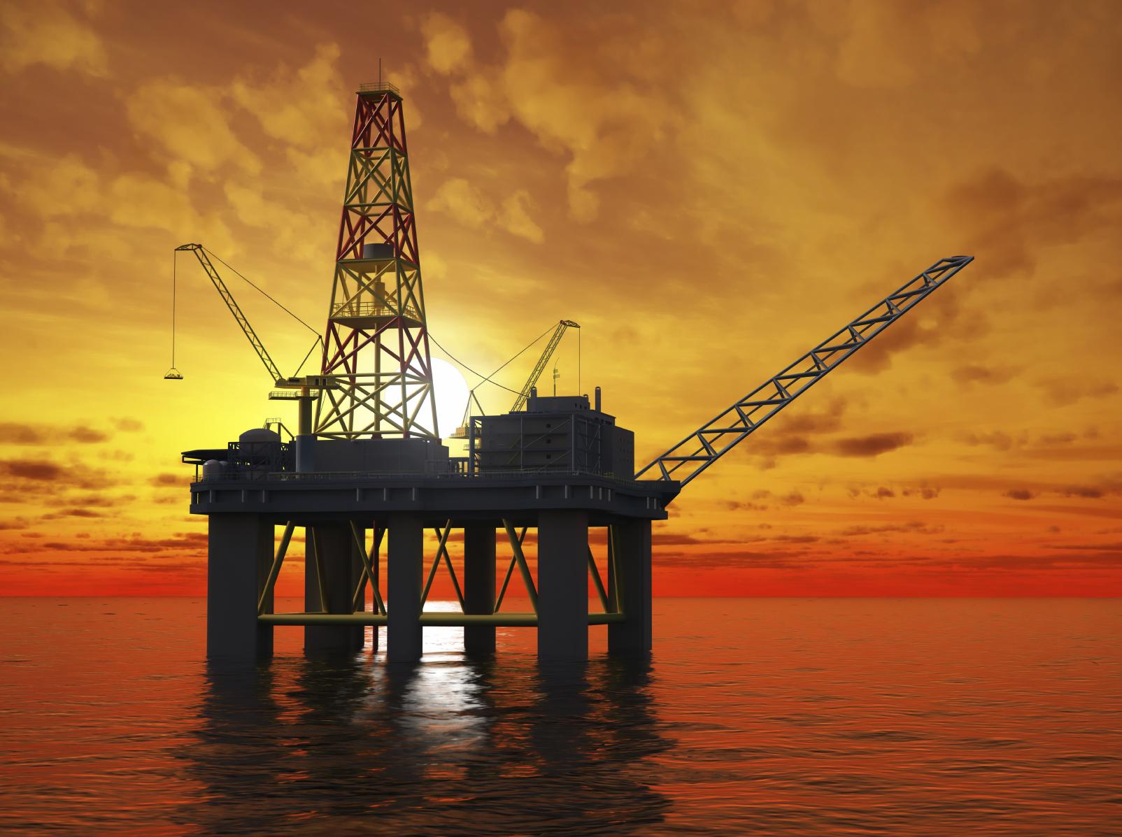 Oil Industry Plataform