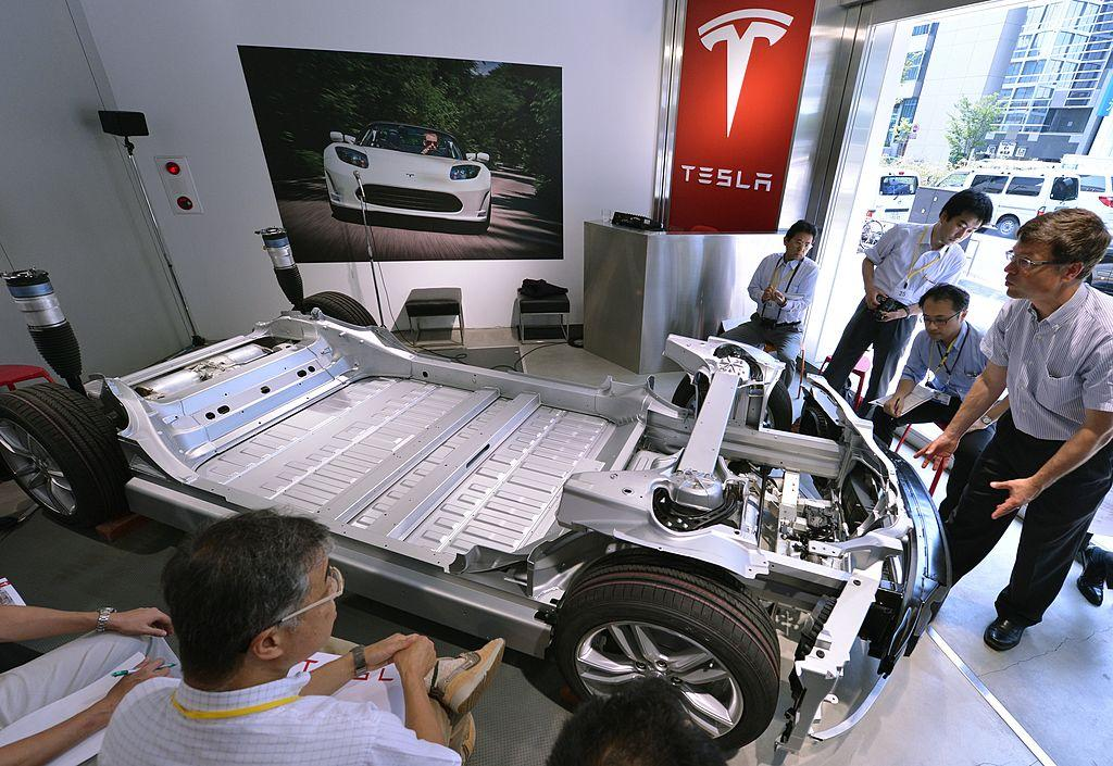 Tesla battery pack