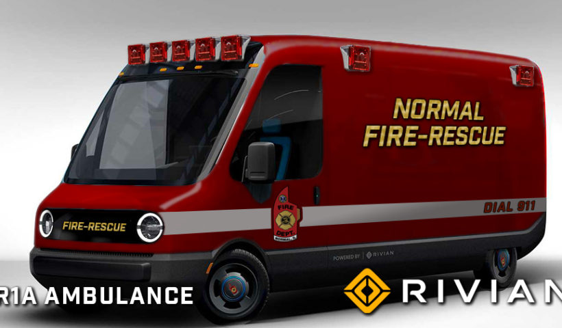Rivian ambulance