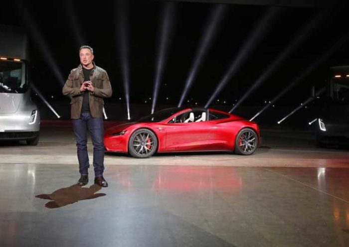 Elon musk Semi Roadster