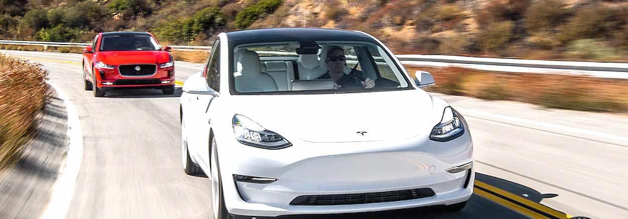 Tesla Jaguar