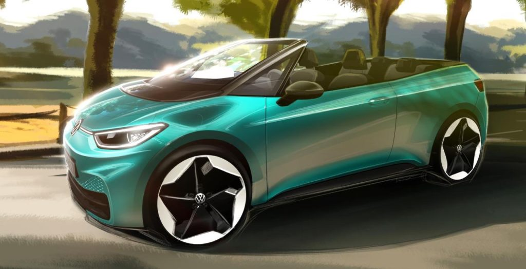ID.3 Electric Convertible Rendering