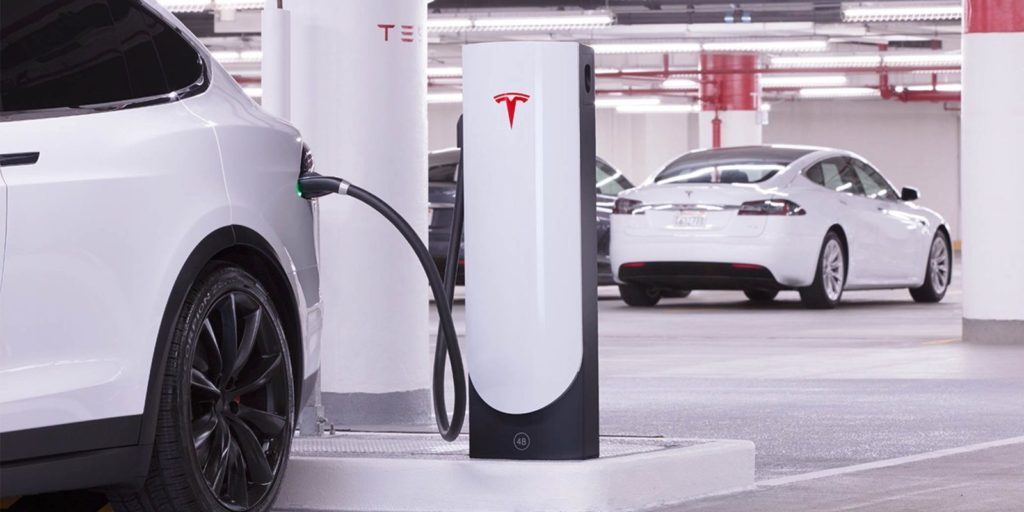 Tesla Supercharger v3
